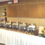 Table Catering Display
